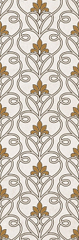 Silvia beige decor 02 30*90