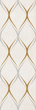 Silvia beige decor 03 30*90